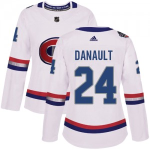 Women's Adidas Montreal Canadiens Phillip Danault White 2017 100 Classic Jersey - Authentic